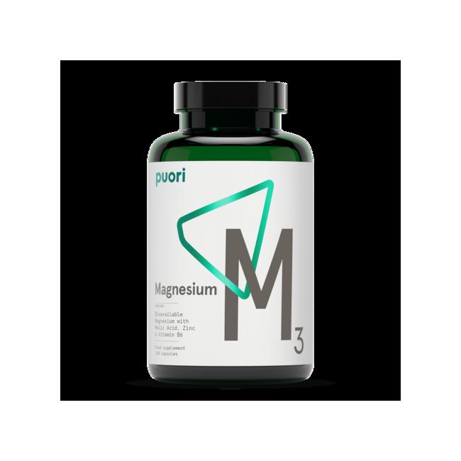 M3 - High Quality Organic Magnesium -120 cáps